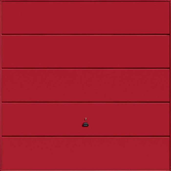 Ascot Ruby Red Garage Door