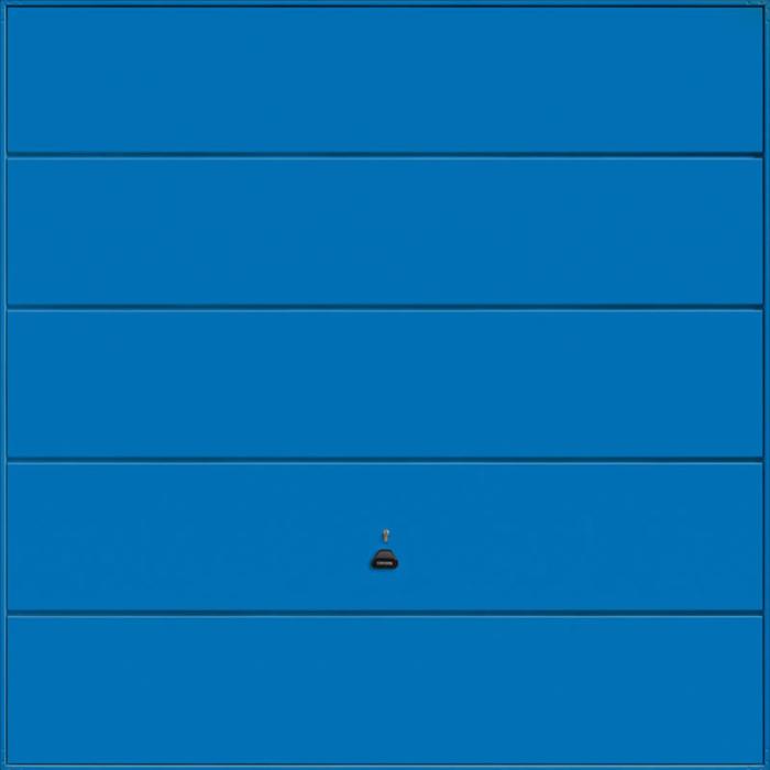 Ascot Signal Blue Garage Door