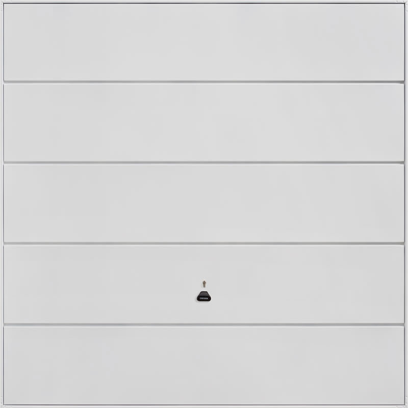 Ascot- White Garage Door