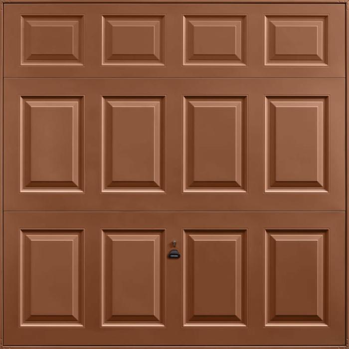 Beaumont Clay Brown Garage Door