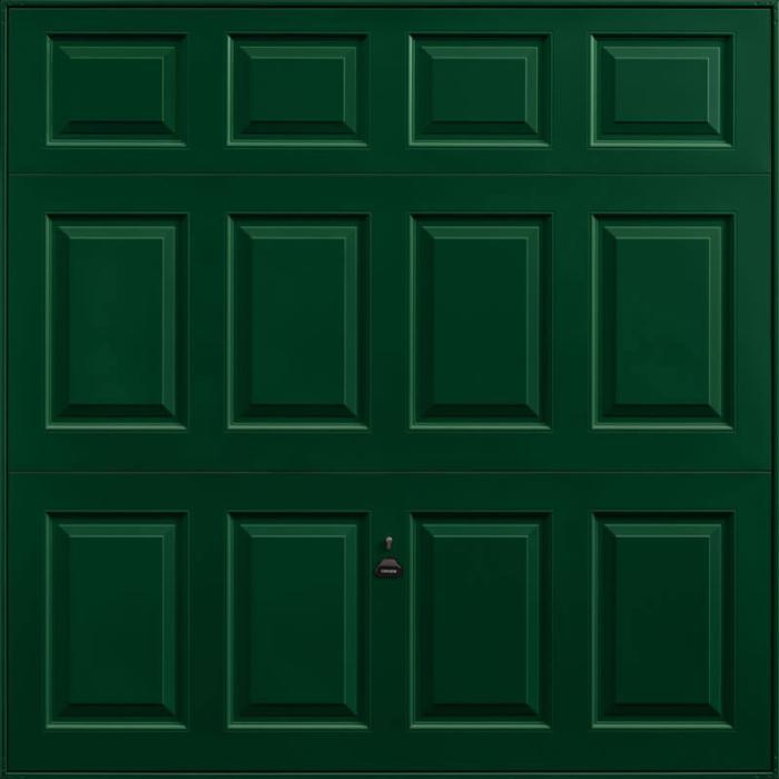 Beaumont Fir Green Garage Door