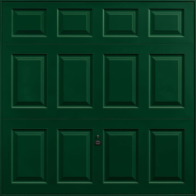Beaumont Fir Green Garage Door