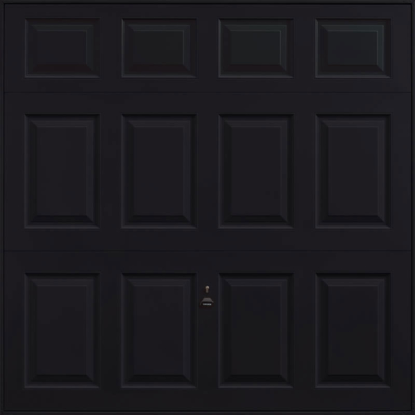 Beaumont Jet Black Garage Door