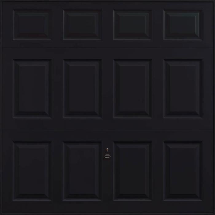 Beaumont Jet Black Garage Door