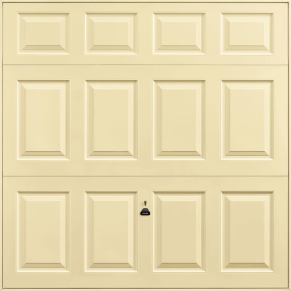 Beaumont Light Ivory Garage Door