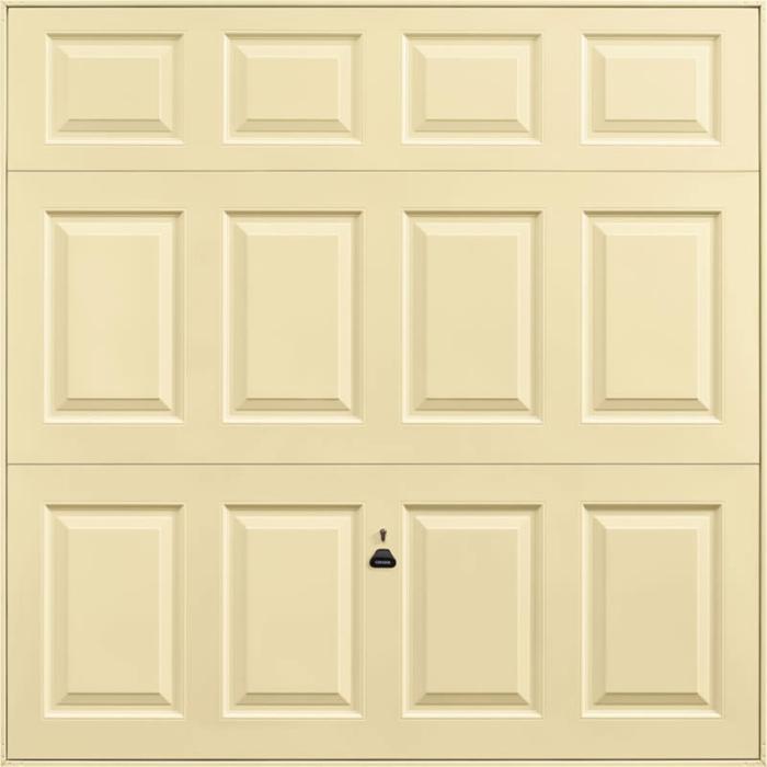 Beaumont Light Ivory Garage Door