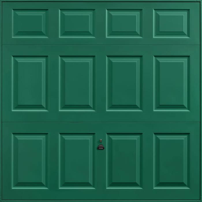 Beaumont Moss Green Garage Door