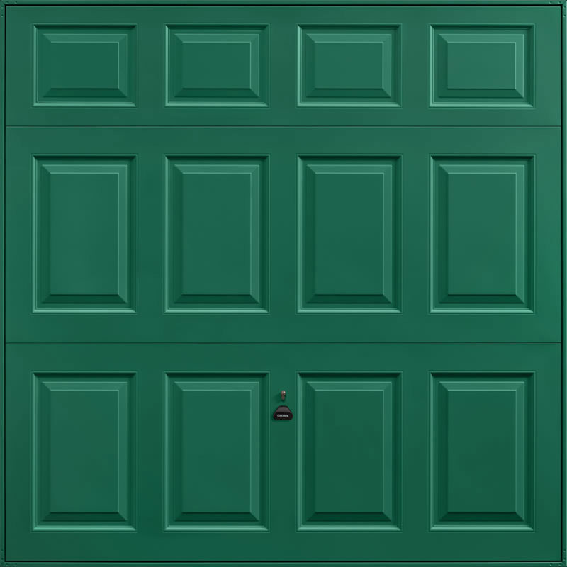 Beaumont Moss Green Garage Door