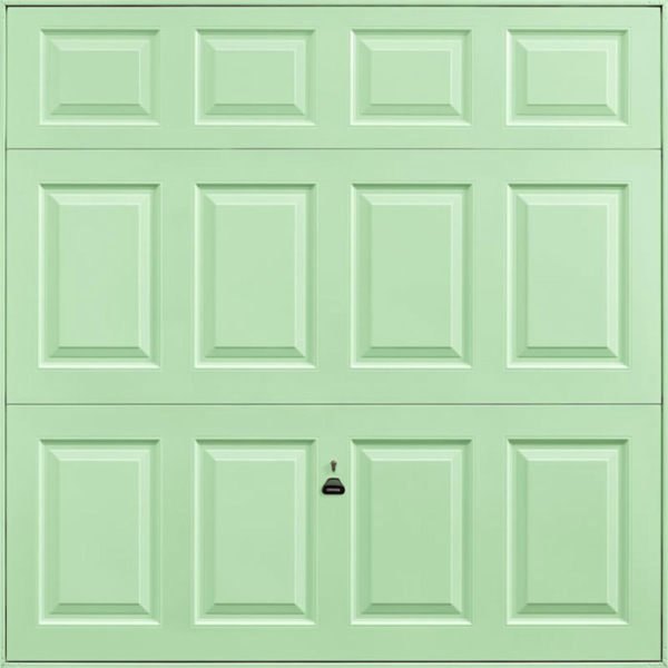 Beaumont Pastel Green Garage Door
