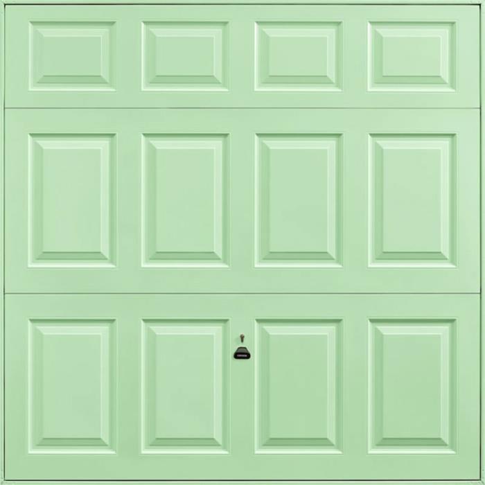 Beaumont Pastel Green Garage Door