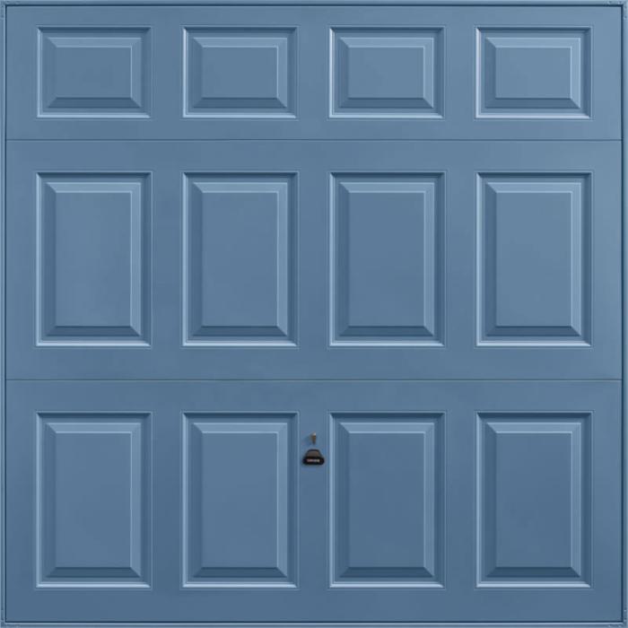 Beaumont Pigeon Blue Garage Door