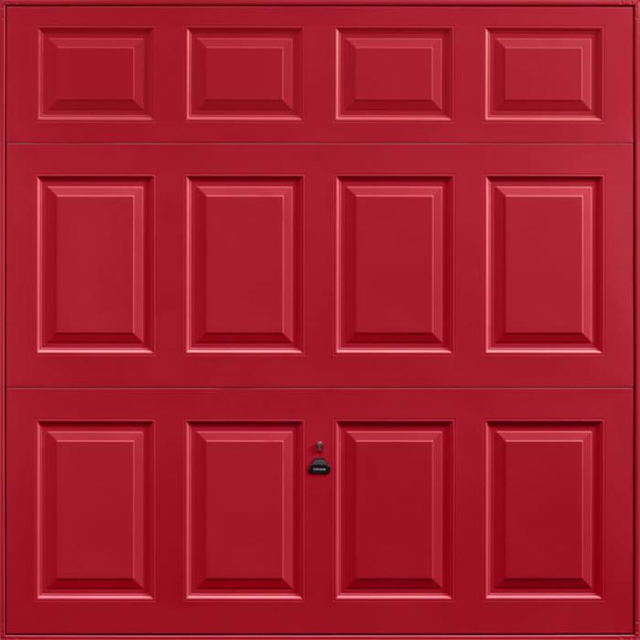 Beaumont Ruby Red Garage Door