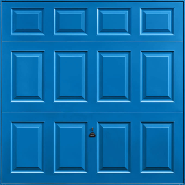 Beaumont Single Blue Garage Door
