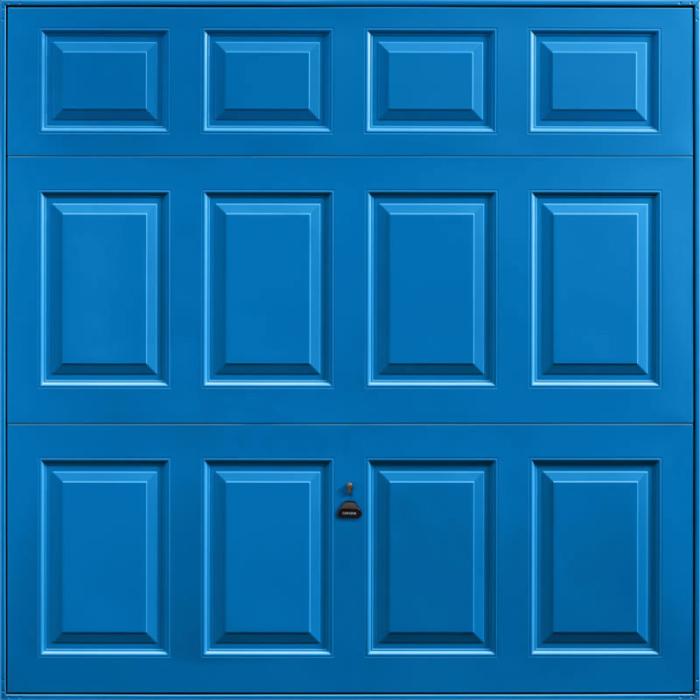 Beaumont Single Blue Garage Door