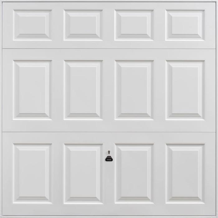 Beaumont White Garage Door