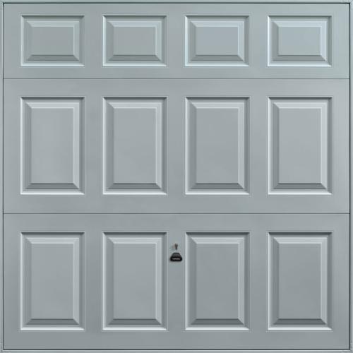 Beaumont Window Grey Garage Door
