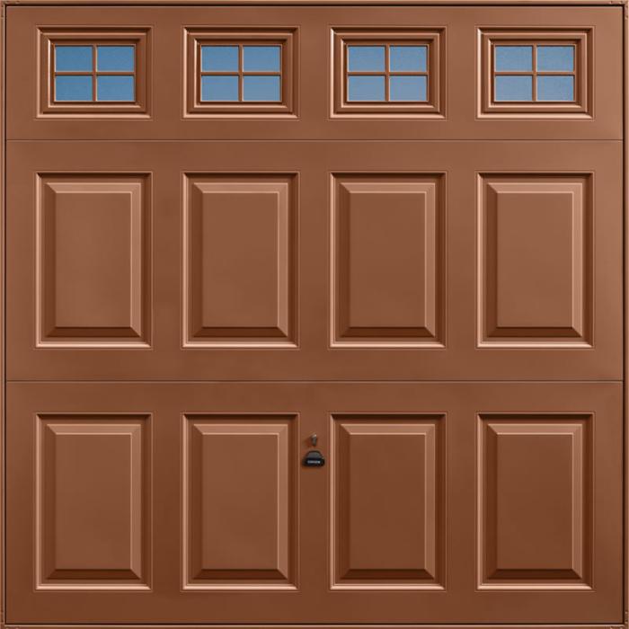 Beaumont Windows Clay Brown Garage Door