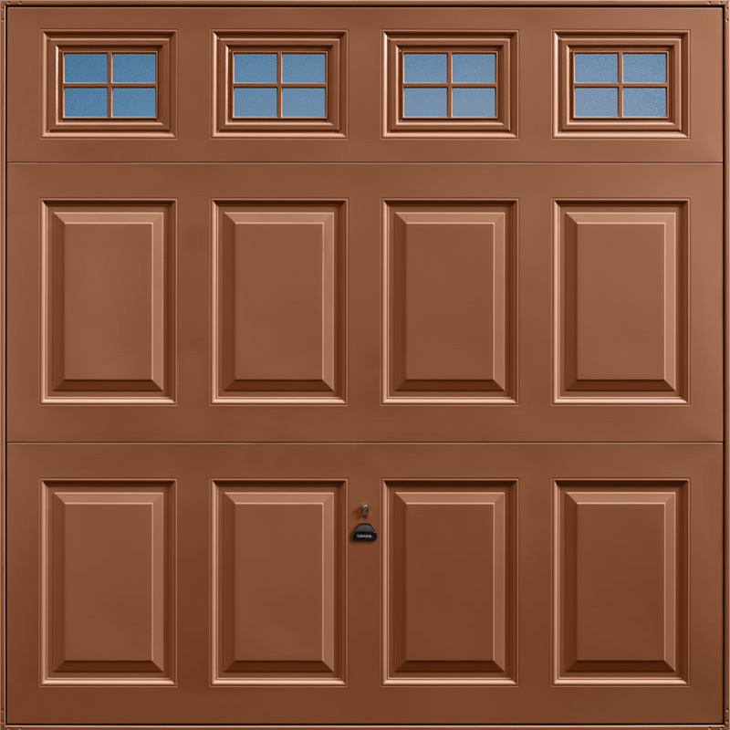 Beaumont Windows Clay Brown Garage Door