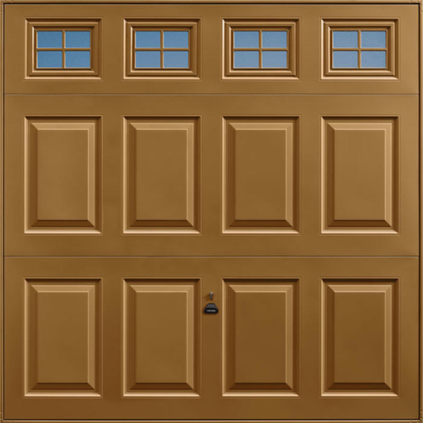 Beaumont Windows Golden Oak Garage Door