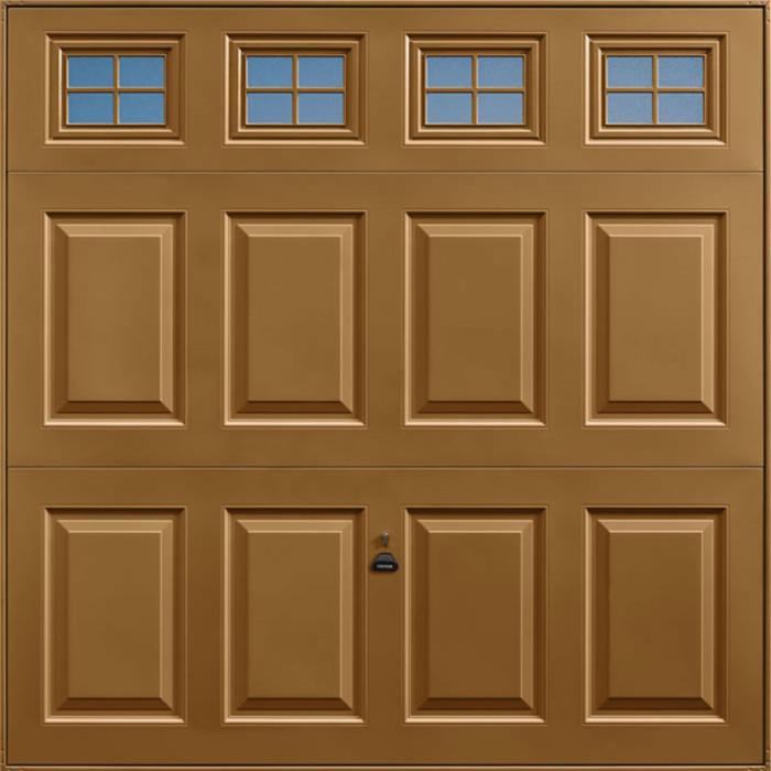 Beaumont Windows Golden Oak Garage Door
