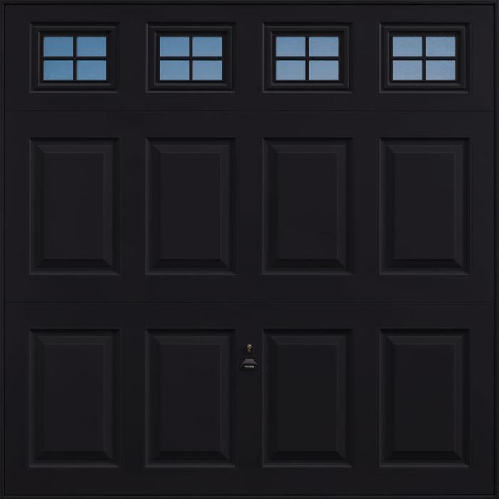 Beaumont Windows Jet Black Garage Door