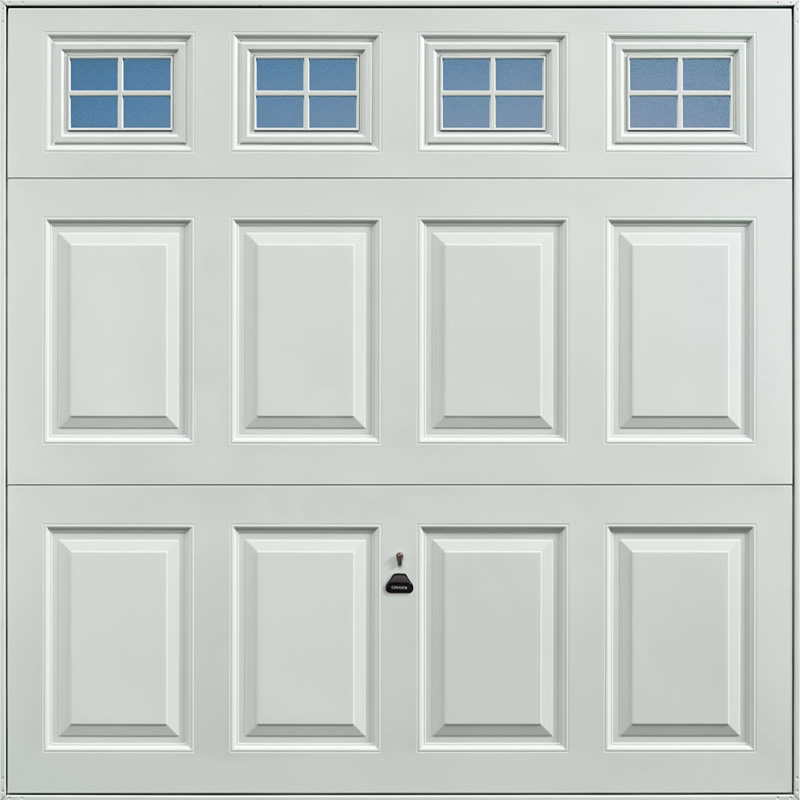 Beaumont Windows Light Grey Garage Door