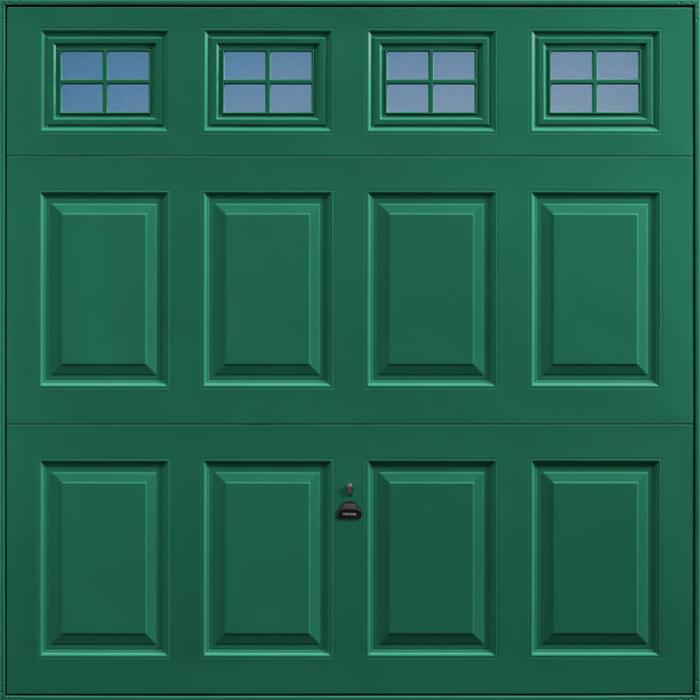 Beaumont Windows Moss Green Garage Door