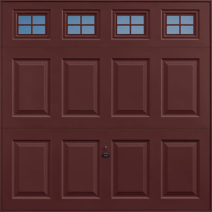 Beaumont Windows Rosewood Garage Door
