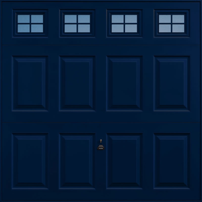 Beaumont Windows Steel Blue Garage Door