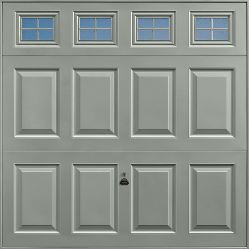 Beaumont Windows Stone Grey Garage Door