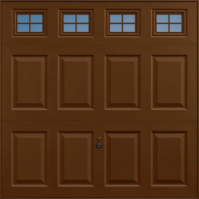 Beaumont Windows Terra Brown Garage Door