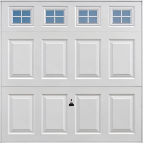 Beaumont Windows White Garage Door