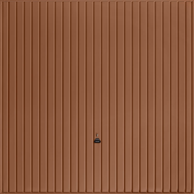 Carlton Clay Brown Garage Door