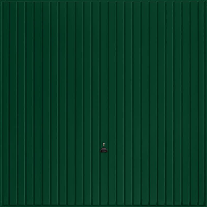 Carlton Fir Green Garage Door