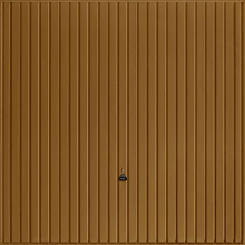 Carlton Golden Oak Garage Door
