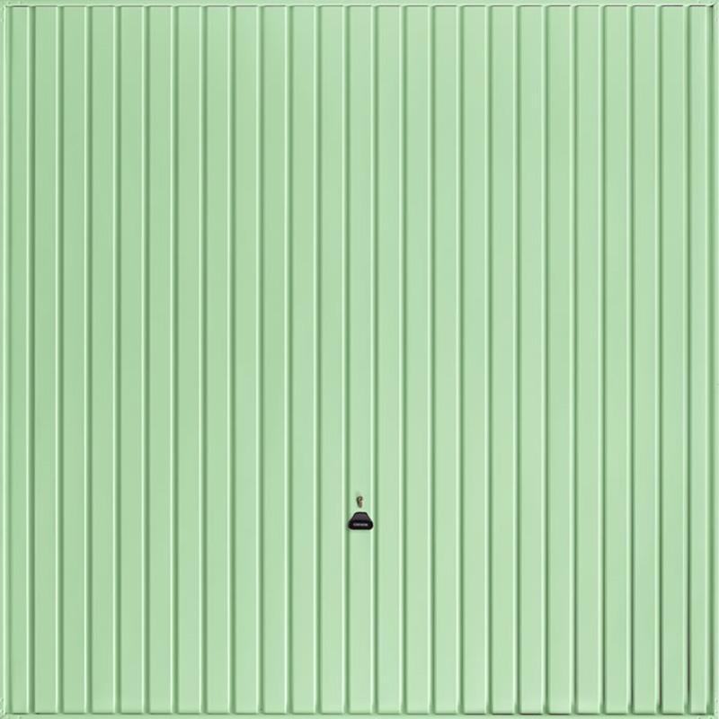 Carlton Pastel Green Garage Door