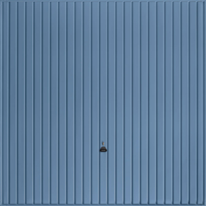 Carlton Pigeon Blue Garage Door