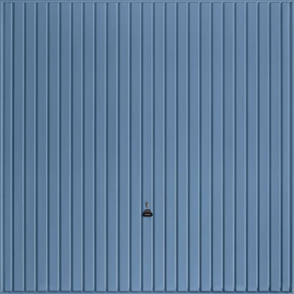 Carlton Pigeon Blue Garage Door