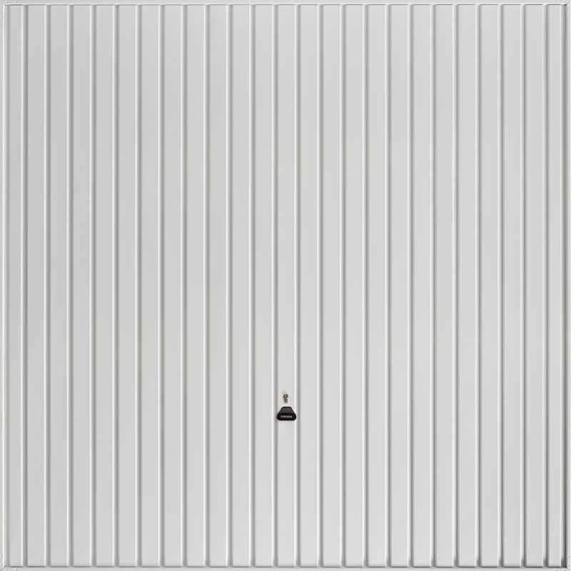 Carlton White Garage Door
