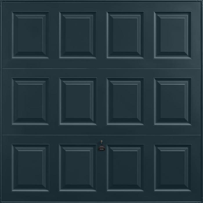 Georgian Anthracite Grey Garage Door