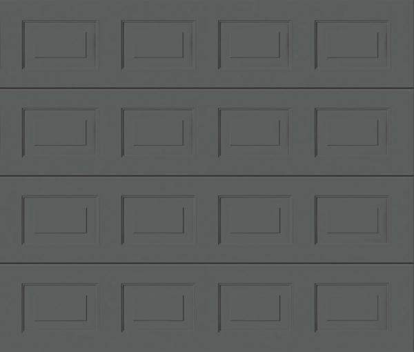 Georgian Grey Aluminium Sectional Garage Door