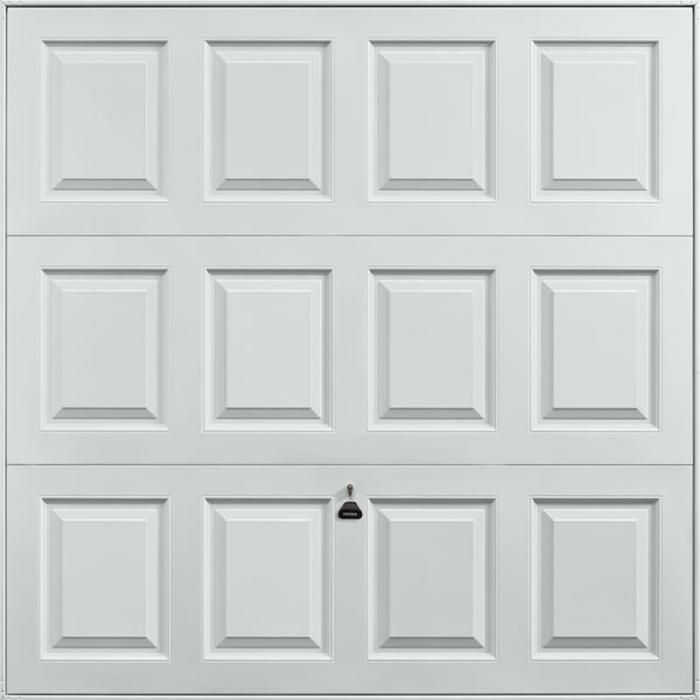 Georgian Light Grey Garage Door