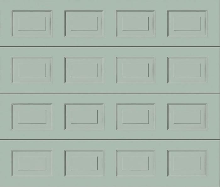Georgian Light Grey Sectional Garage Door