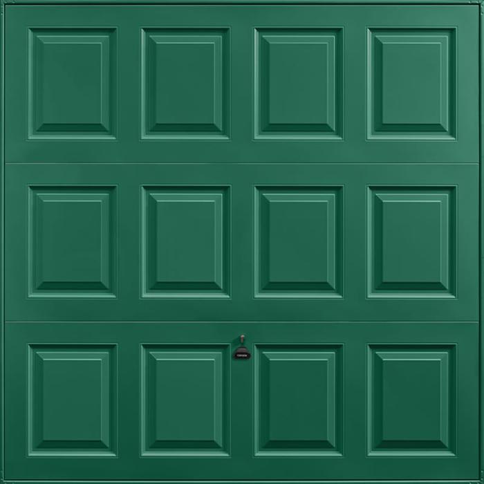 Georgian Moss Green Garage Door