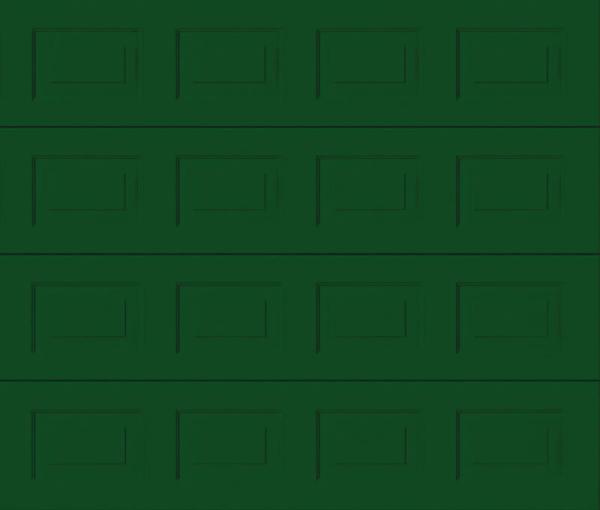 Georgian Moss Green Sectional Garage Door