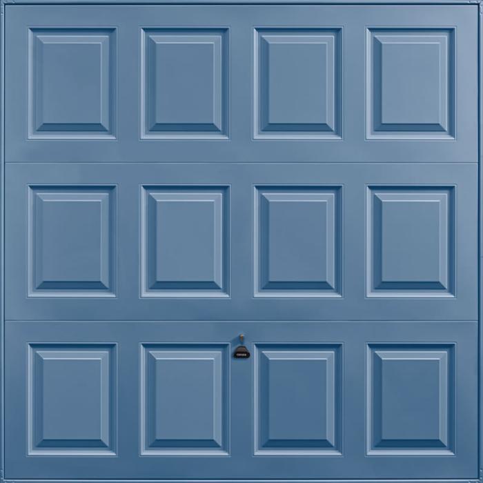 Georgian Pigeon Blue Garage Door
