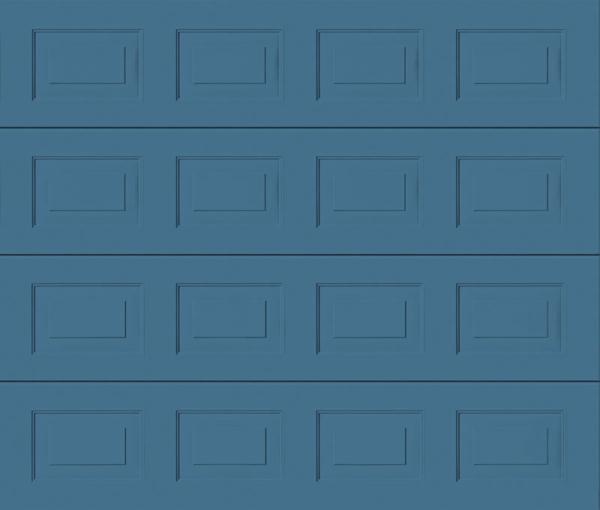 Georgian Pigeon Blue Sectional Garage Door