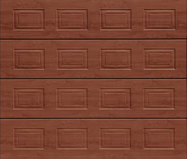Georgian Rosewood Sectional Garage Door