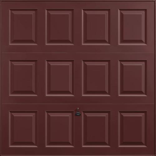 Georgian Rosewood Garage Door