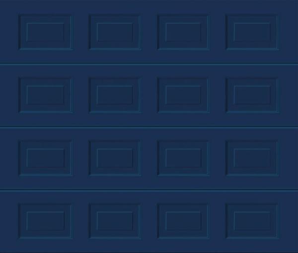 Georgian Sapphire Blue Sectional Garage Door